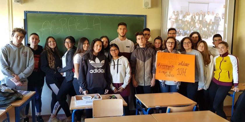 Mercadillo solidario IES Miguel de Cervantes